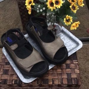 Wolky Velcro Sandals